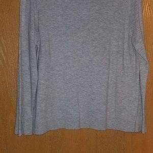 Lt. gray wool sweater